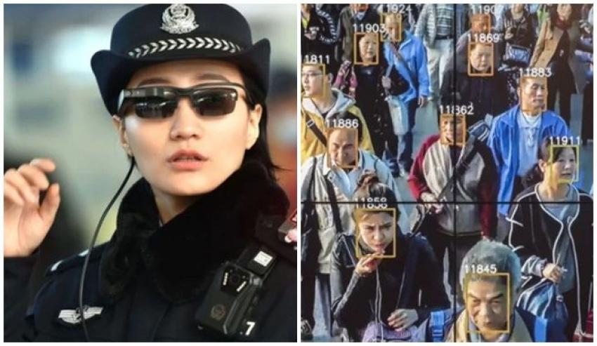 La policía de China comenzó a usar lentes con reconocimiento facial para identificar a delincuentes